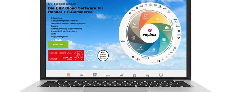 Neue reybex Website 2019