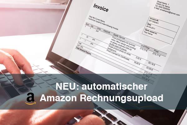 automatischer Amazon Rechnungsupload aus dem ERP System