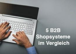 5 B2B Shopsysteme im Vergleich