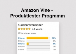 Amazon Vine Produkttester Programm