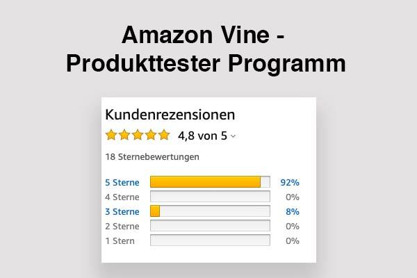 Amazon Vine Club der Produkttester