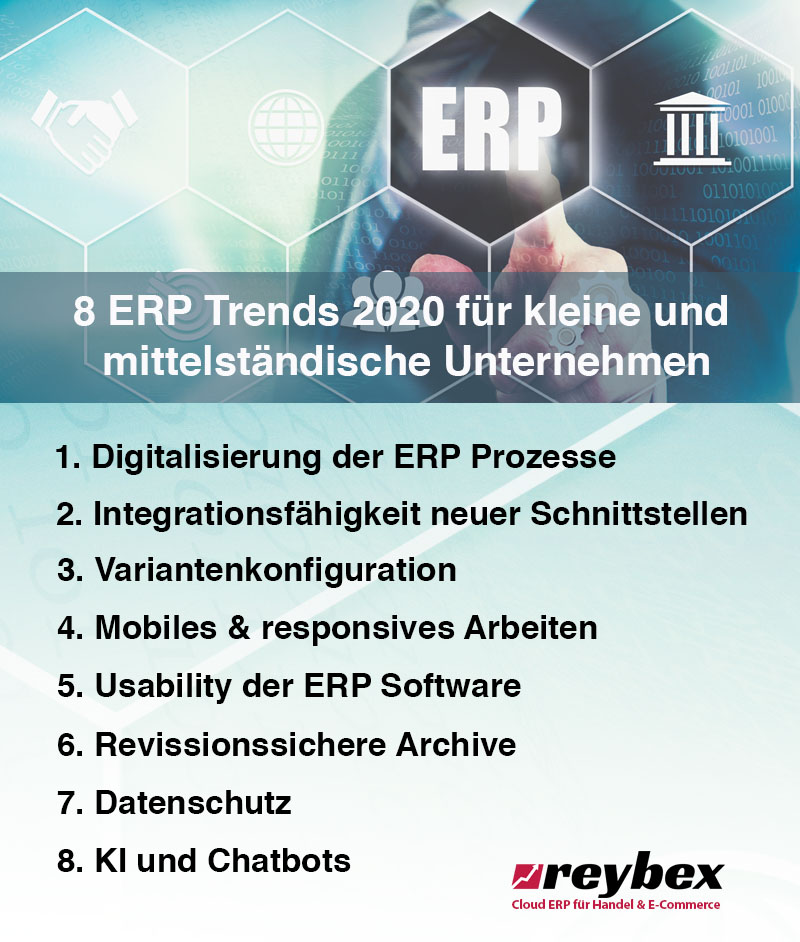 8 ERP System Trends 2020