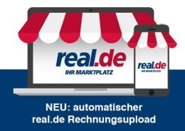 real.de Rechnungsupload