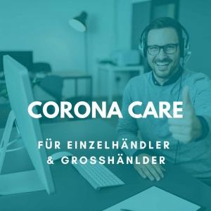 Corona Care für Großhändler und Einzelhändler